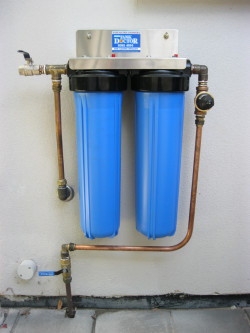 Twin Cartridge Whole House Filtration System