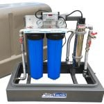 Twin Rainwater Filtration System with Ultraviolet