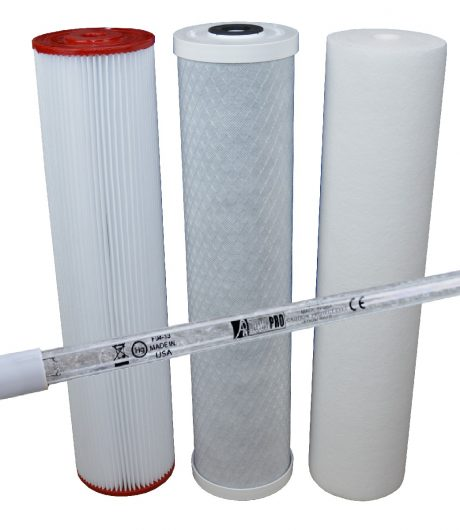 "Triple Rainwater Filtration System - 20"" x 4.5"""