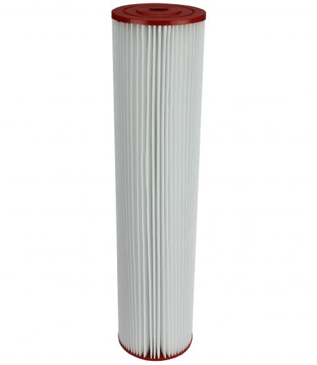 "Replacement cartridge 20""x 4.5""-10 micron polyester pleated"