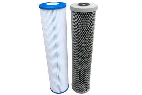Washable filter cartridges