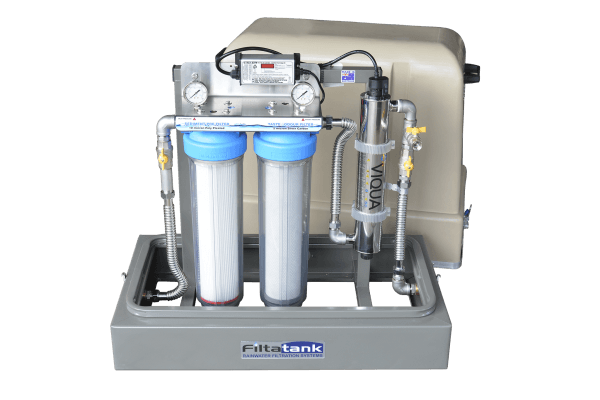 Filtatank Twin Cartridge Rainwater Filtration System