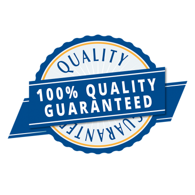 Copy of quality guarantee badge