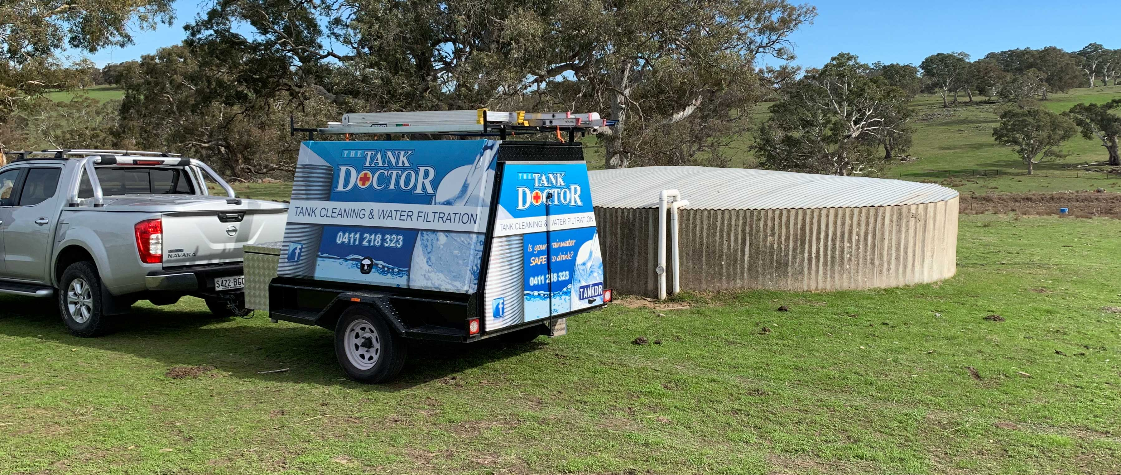 Rainwater Tank Cleaning Service Adelaide - The Tank Doctor